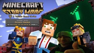 Minecraft Story Mode Gameplay Playthrough Chapter 7 - Access Denied (PC)