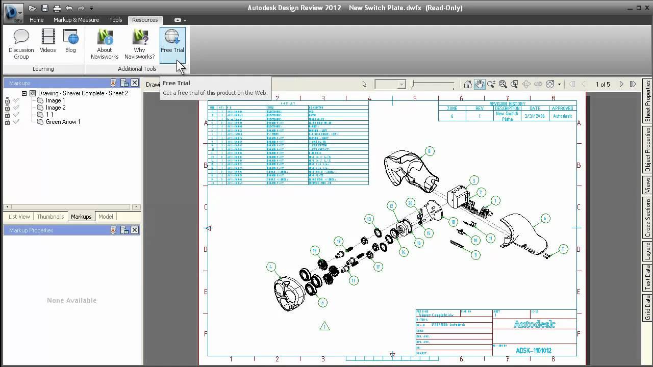 Autodesk Design Review 2012 Скачать