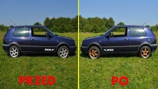 Tuning wizualny VW GOLFA III - Nowe Alufelgi #11