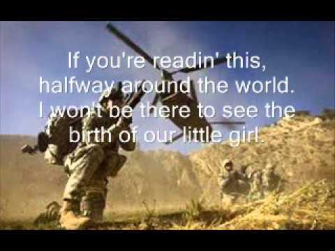 If you're reading this - Tim Mcgraw Lyrics on Screen!