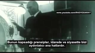 Atatürk'ün son meclis konuşması - Gökten indiği sanılan kitaplar