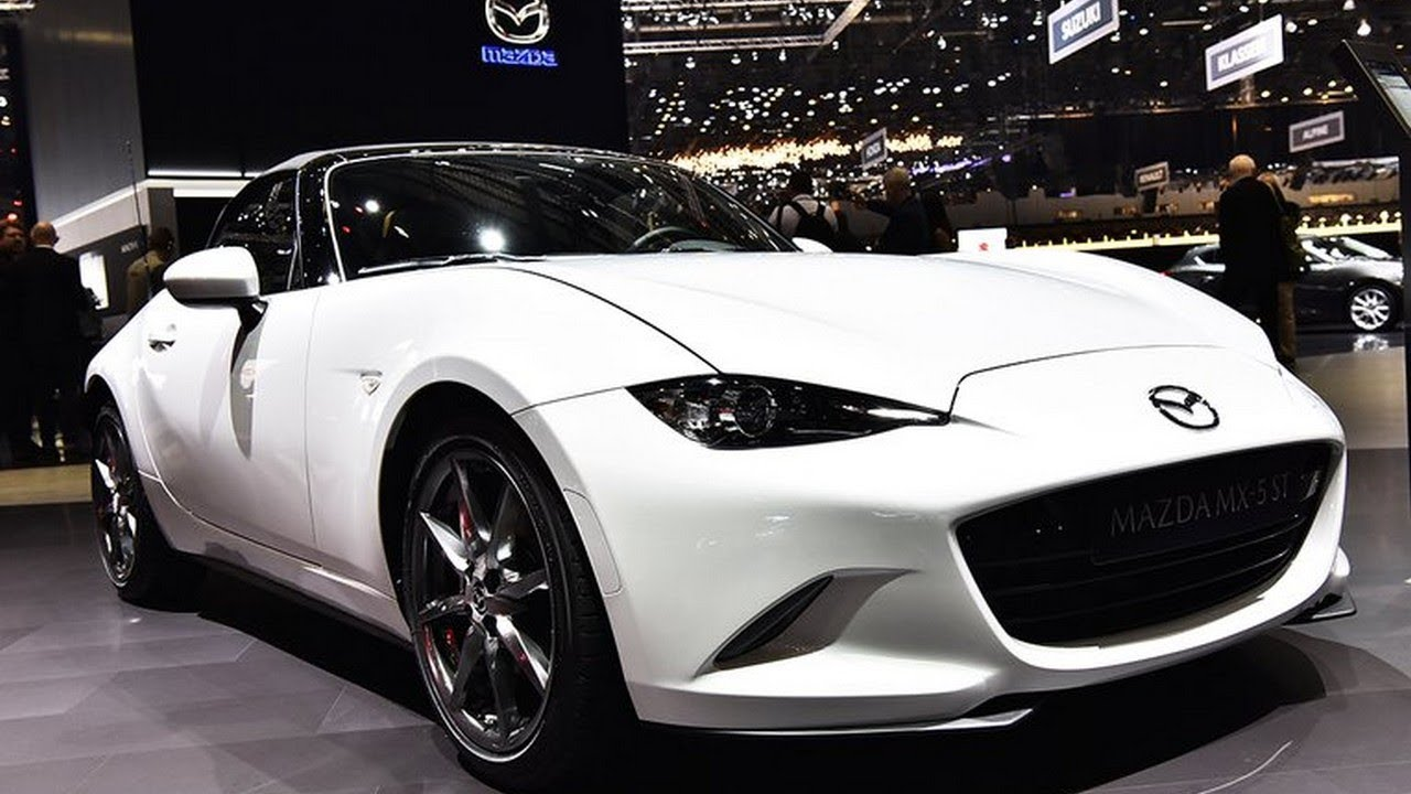 2019 mazda mx 5 havana st first look at 2018 geneva motor show the true legend youtube. Black Bedroom Furniture Sets. Home Design Ideas