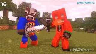 Minecraft intro vs Roblox intro