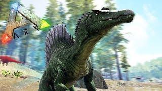 ПРОХОЖДЕНИЕ ЗА СПИНОЗАВРА, ДИНО МОД   Ark Survival Play As Dino