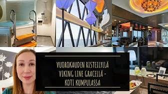 Viking Line - Risteilyllä - Viking Grace - Turku-Tukholma - Laivalla -  Koti Kumpulassa Vlogi