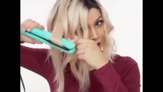 як зробити кучері на коротке волосся