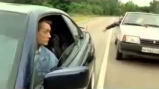 How to deal with road rage, the Russian way