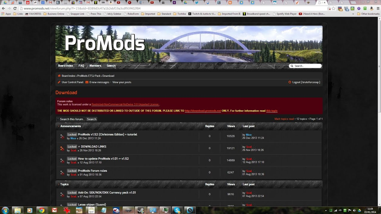 promods map 1.52