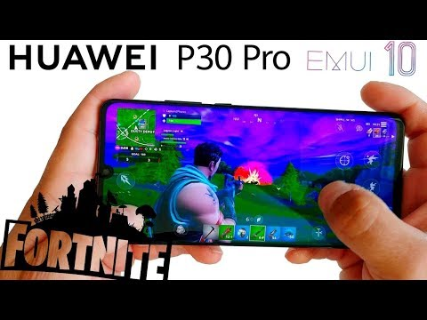 FORTNITE MOBILE Huawei P30 Pro W/ Android 10 GAMEPLAY (Max Graphic | 60 FPS !!!)