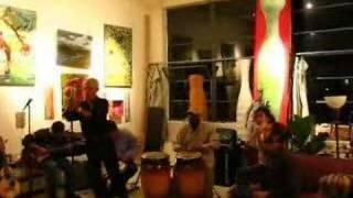 Cris Matos - jibaro music -10-20-07 party Cynthia Tom studio