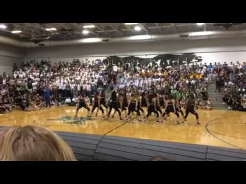 Fleming island high school 2016 prep rally dance team