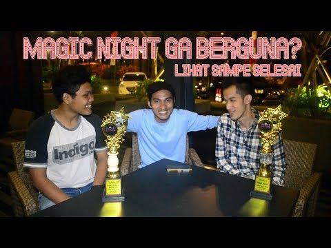 HASIL SHARING DI MAGIC NIGHT INDONESIA JAKARTA   Free Time