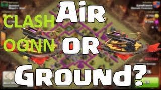 Clash Of Clans : Top 3 War Attack Strategy In Town Hall 8 !!! Easy Ground attack guide