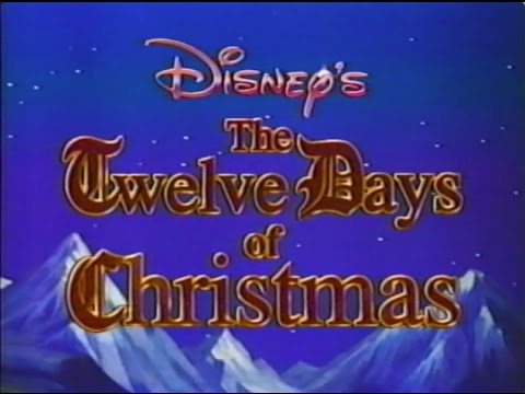 disney sing along songs the twelve days of christmas youtube