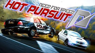 Need For Speed Hot Pursuit - INSANE POLICE CHASE CRASHES!