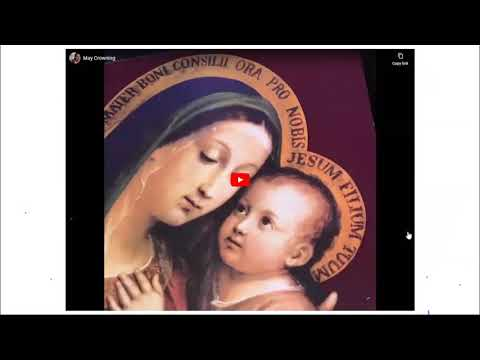 May Crowning Regina Coeli Catholic School 5-5-2020