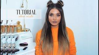 Jak robię różki na włosach? Tutorial