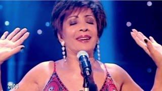 Shirley Bassey - GOLDFINGER / MOONRAKER / Diamonds Are Forever (Medley)  ( 2006 Live)