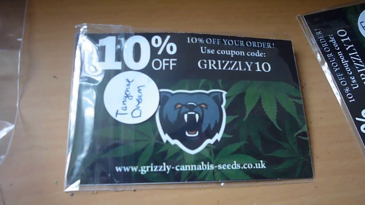 Grizzly Seed Bank Coupon Codes September 2019   15%+ Off