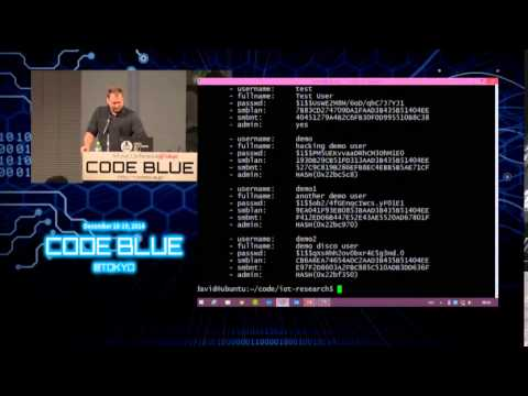 CODE BLUE 2014 : David Jacoby - How I Hacked My Home