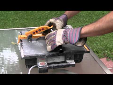 how to cut glass with a glass cutter video