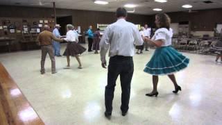 "02 LINDA PROSSER CUES ""AXEL F"" CHA-CHA AT DANCE A"