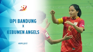 UPI Bandung Vs Kebumen Angels - Highlight Women Pro Futsal League 2017