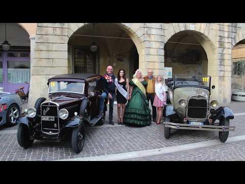 Raduno Auto Regionale 1935 - Partecipazione Miss Arte Moda Italia Lady