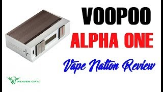 VOOPOO ALPHA ONE Canelita Low Cost Review