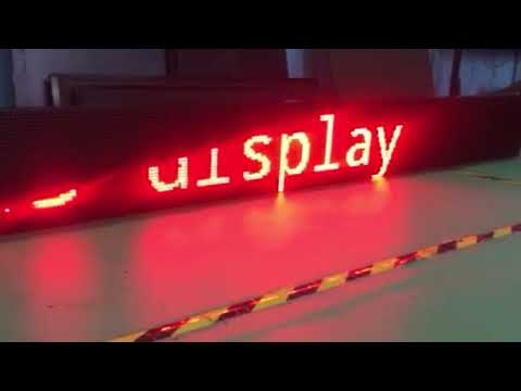 Controlling Wifi LED display with mobile app