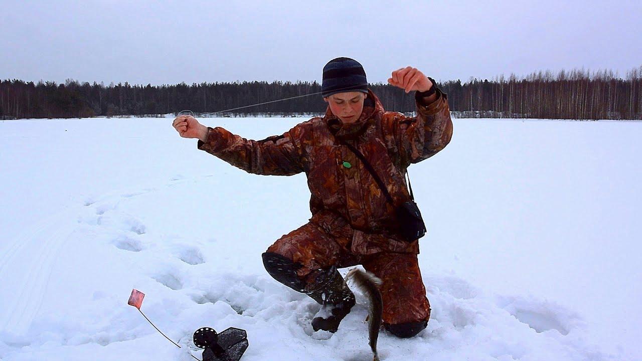 зимния ловля щуки на жерлицы видео