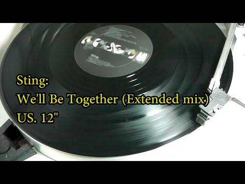 Sting: We'll Be Together (extended version) 12""