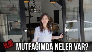 VLOG: Mutfağımda Neler Var? | Merlin Mutfakta Yemek Tarifleri
