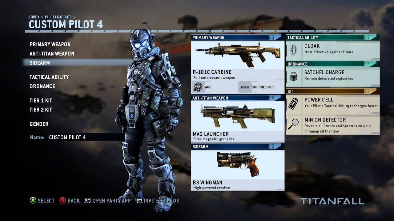 titanfall r101c carbine rifle aog sight amp b3 wingman 8
