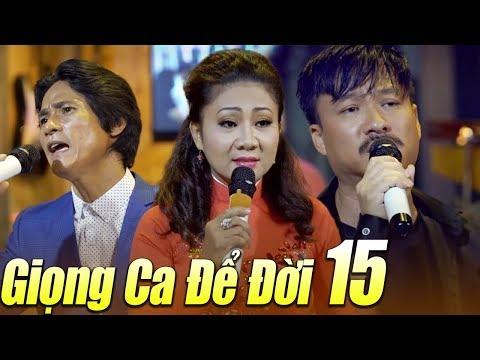 Liveshow GIỌNG CA ĐỂ ĐỜI 15 - LK Nhạc Vàng Bolero Buồn Tê Tái | Ngày Còn Em Bên Tôi