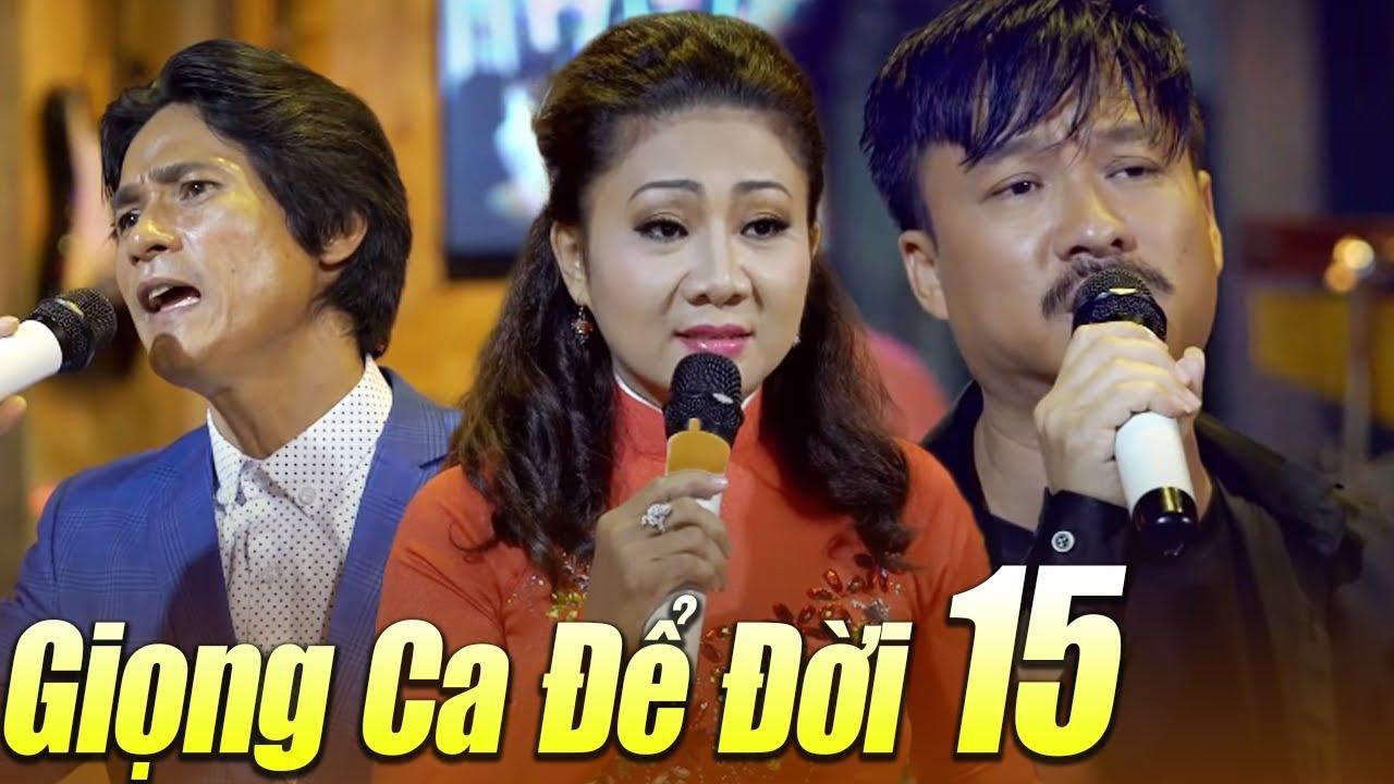 Liveshow GIỌNG CA ĐỂ ĐỜI 15 – LK Nhạc Vàng Bolero Buồn Tê Tái | Ngày Còn Em Bên Tôi
