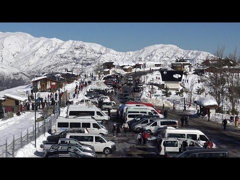 Farellones Ski Resort In Santiago De Chile