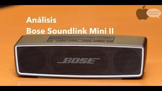 Unboxing y análisis Bose Soundlink Mini II
