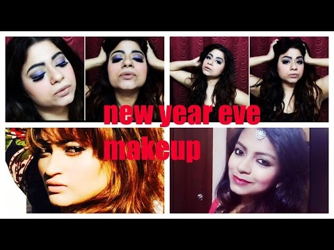 New Year Eve Makeup Look (collaboration Video With 2 Amazing Indian Youtubers) By DIMPLE D'SOUZA