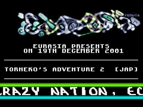 EURASIA - Torneko's Adventure 2 - GBA Cracktro / Crack Intro (GAMEBOY ADVANCE)