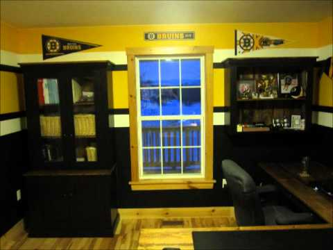 Boston Bruins Room Before The 2011 Stanley Cup Playoffs