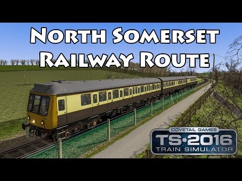 North Somerset Railway Route Add-On | BR Class 117 ►Train Simulator 2016 |