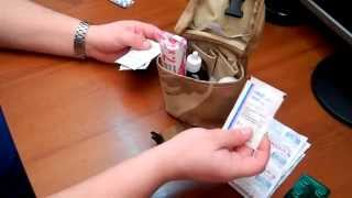 видео Состав медицинской аптечки