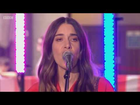 Haim - Want You Back live at The One Show 2017