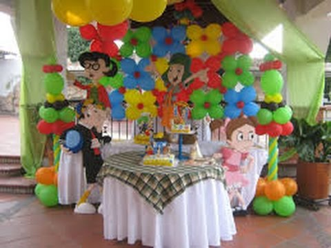 40 ideas de mesas de dulces del chavo del ocho youtube for Decoracion de mesas infantiles