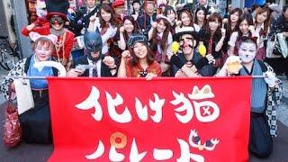 「東京自由行」神楽坂「化け猫パレード」貓痴必去! 扮鬼扮馬  / Cat Monster Parade at Kakurazaka, Tokyo [日本語]