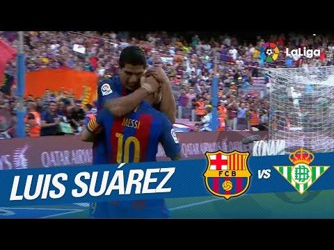 Luis Suárez firma un hat-trick en el debut liguero