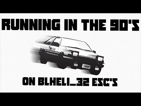 RUNNING IN THE 90's On BLHeli_32 ESC's - Startup Music - Two Versions