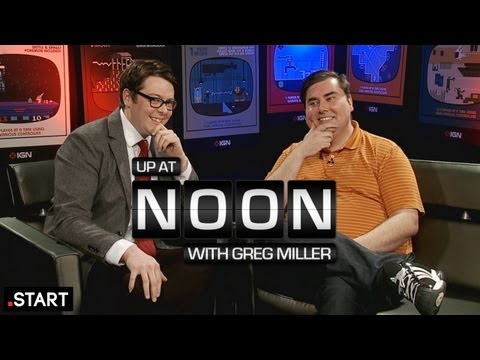 Extended Jeff Gerstmann Interview - Up At Noon