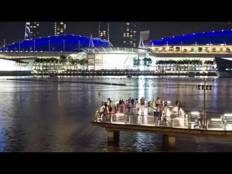 Stunning Hyperlapse Footage of Singapore